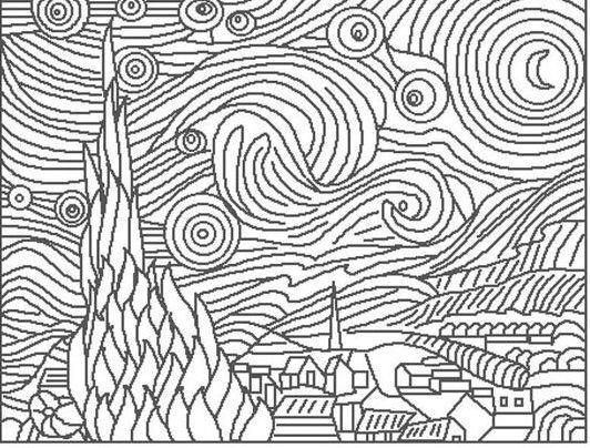 Fine art coloring pages road trips pinterest for Fine art coloring pages