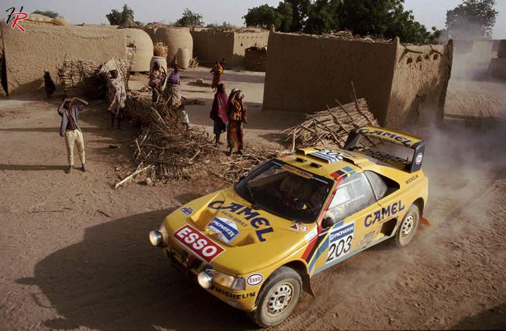Ari Vatanen, Peugeot 405 Grand Raid, Dakar Rally.