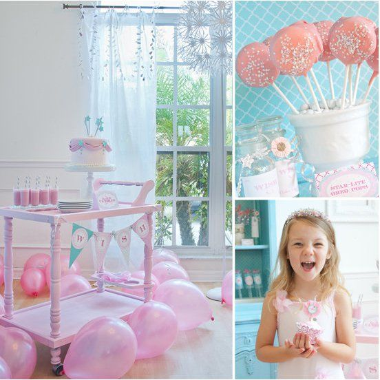 Pin for Later: 120 Kids' Birthday Party Themes to Celebrate Your Child's Big Day A Sweet Girlie Birthday Bash