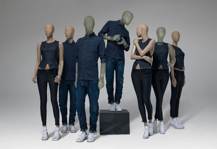PARIS SPECIAL FINISH BY HANS BOODT MANNEQUINS