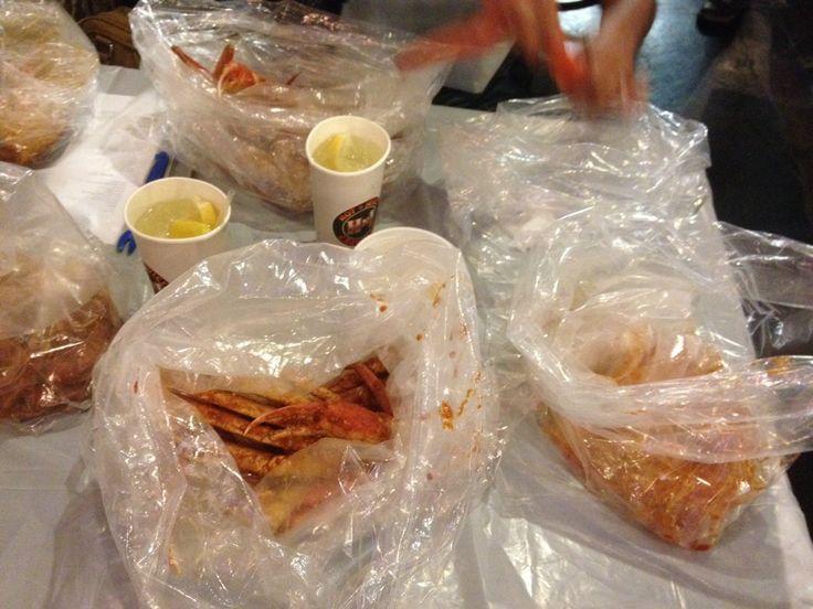 Crawfish Restaurant Vegas Man Vs Food