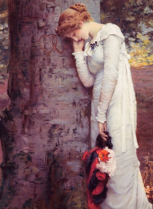 Love's Daydream End, 1880 by Marcus Stone