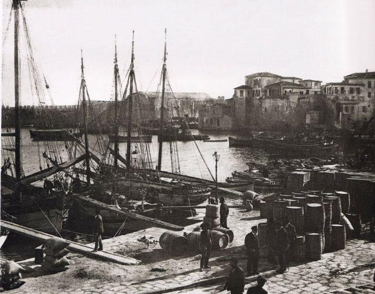 Λιμάνι Ηρακλείου Κρήτης 1911
