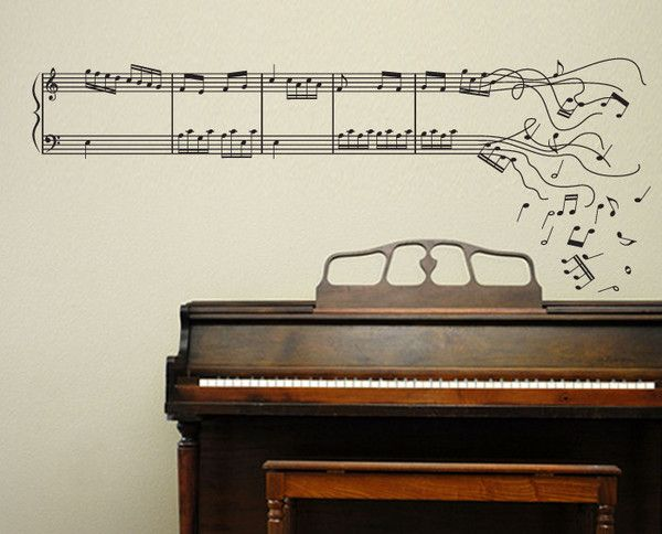 63 best Piano wall images on Pinterest | Room wall decor, Music ...