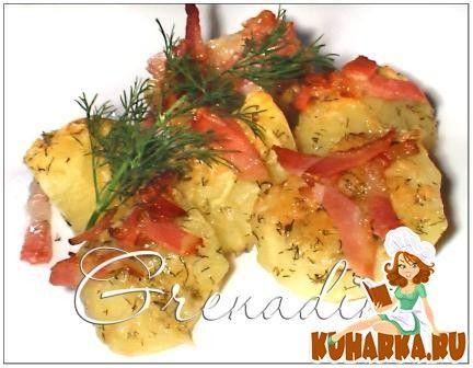 Картофель запеченный с пармезаном
