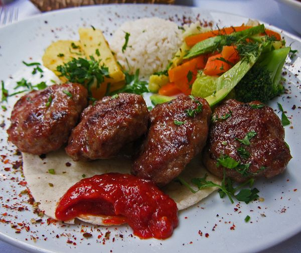 Turkish kofte - a recipe that is something between comfort food and the exotic ethnic food that never fails to impress.