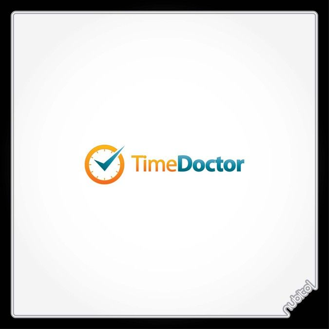 Logo for Time Doctor - Time Management Software by Logorithms