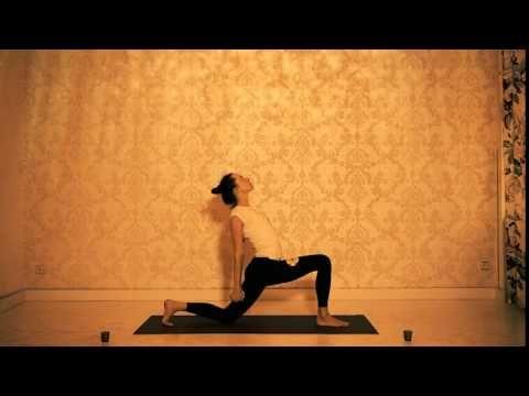 Jóga proti bolesti zad - otevření, uvolnění a posílení ramen a hrudi - YouTube
