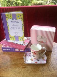 Women's Weekly Classic Collection Cakes & Cupcakes  & Ashdene Vintage Garden Snack set $34.50