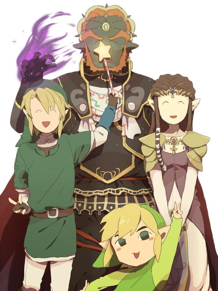 /The Legend of Zelda/#942988 - Zerochan | Link, Zelda, Ganondorf, and Toon Link