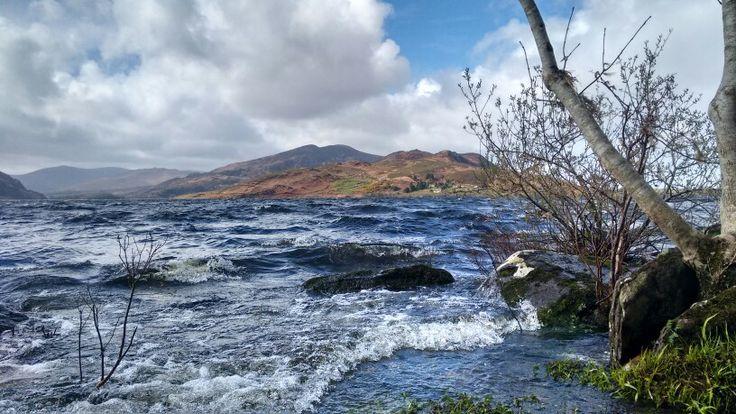 Choppy water at Caragh Lake