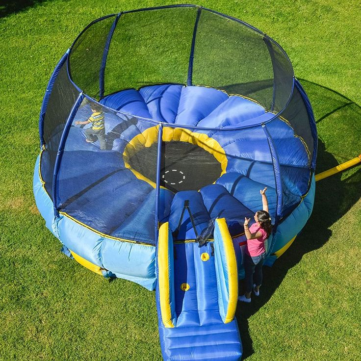 Superdome Trampoline and Bouncer Inflated Air Bounce House