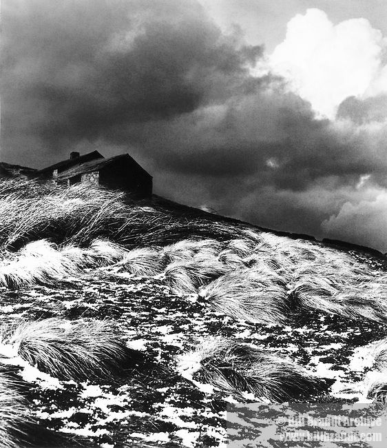 Bill BRANDT : Top Withens (the setting for Emily Bronte's Wuthering Heights), 1945