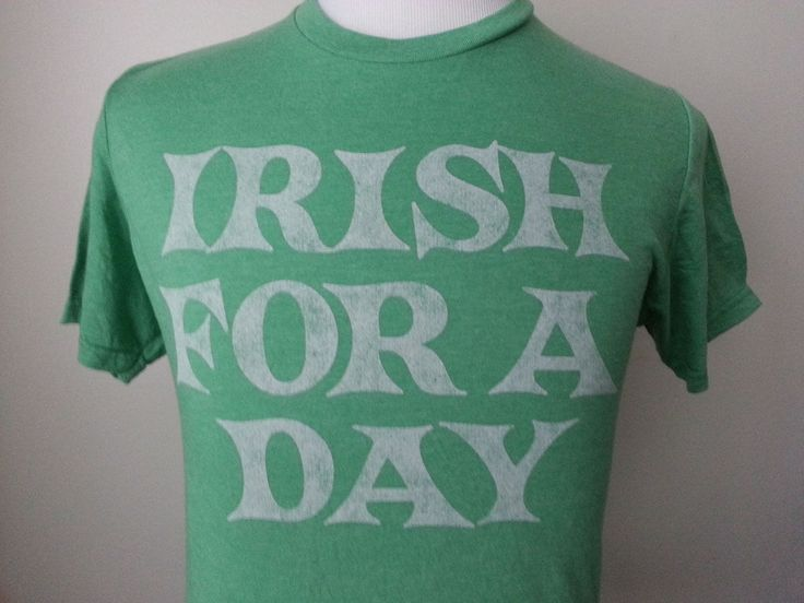 #ebay Topless California size M men cotton green graphic t-shirt Irish FOR A DAY withing our EBAY store at  http://stores.ebay.com/esquirestore