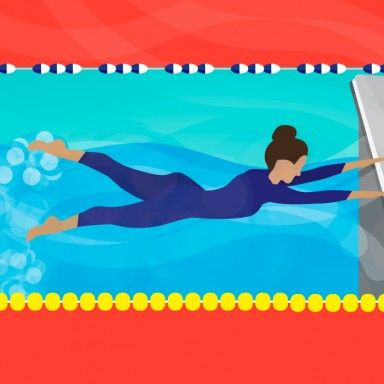 Schedule some pool time for this fun swim workout. You'll work your abs and condition your muscles while rocking your new swimsuit.