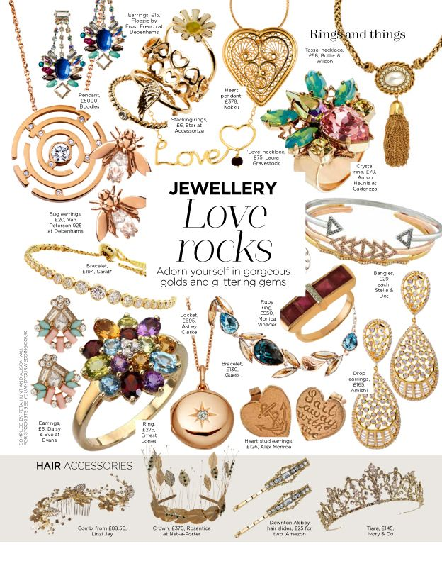 Fenicio heart pendant as featured on 'You and Your Wedding magazine