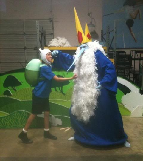adventure time ice king homemade costumes | The new Live Action Adventure Time promo.