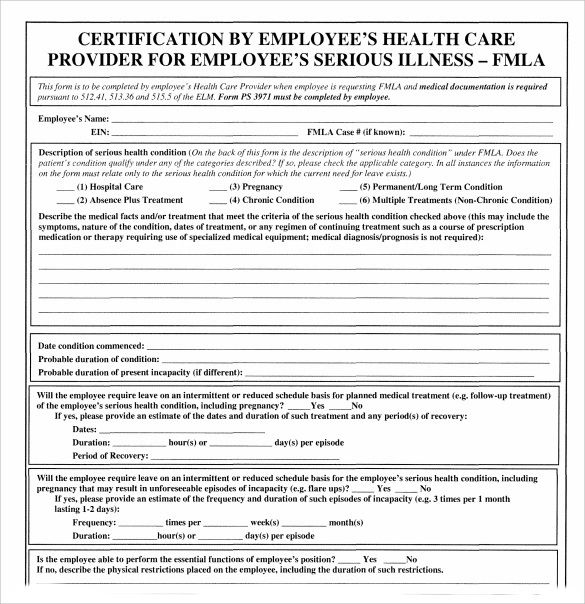 graphic regarding Fmla Printable Forms called fmla printable types spanish papers and varieties Template
