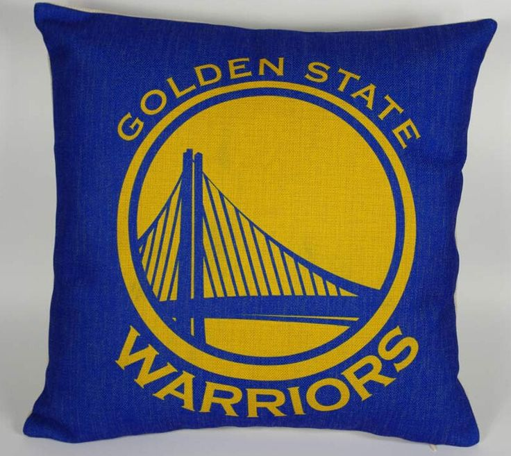 Golden State Warriors pillow cover, Team logo Golden State Warriors throw pillow cover pillowcase wholesale #Affiliate