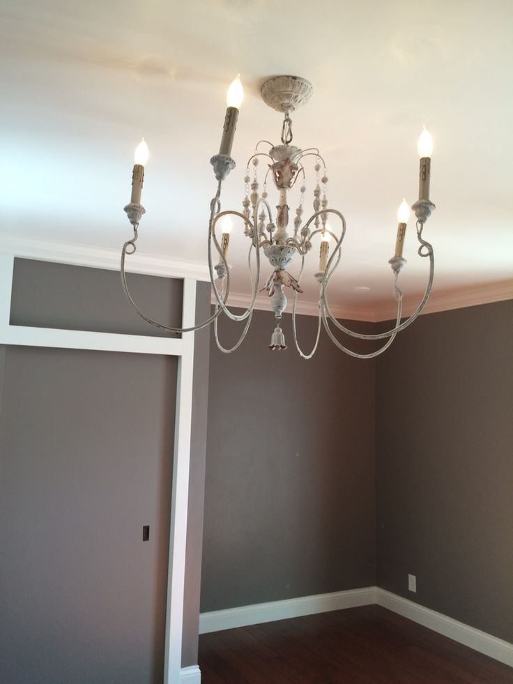 Farmhouse Chic Bedroom Chandelier In A 950 000 Home In The Hills Of Burbank My Life As A