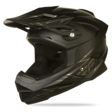 2014  Fly Racing Default Matte Black BMX Helmet *dies* I need it.