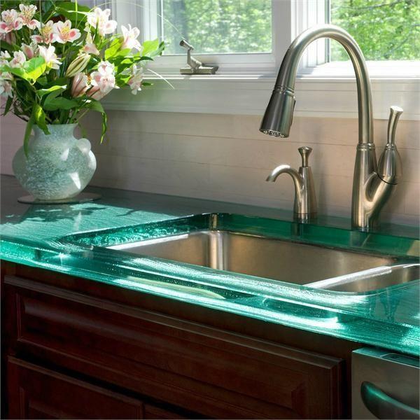 Best Kitchen Countertops: Best 25+ Glass Countertops Ideas On Pinterest