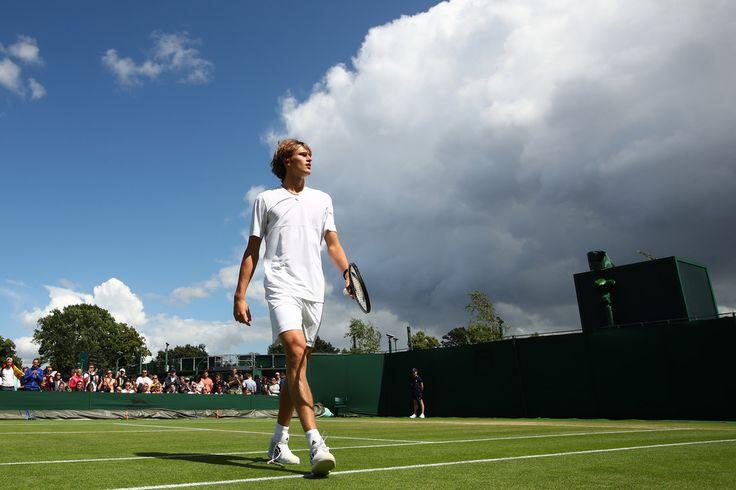 Alexander Zverev Photos Photos - Best of The Championships - Wimbledon 2016 - Zimbio
