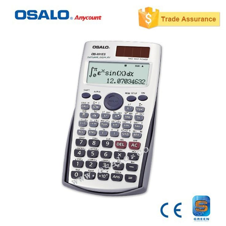 991ES Plus Scientific Calculator Dual Power With 417 Function Calculadora Cientifica As Gift 8 Different Languages Specification