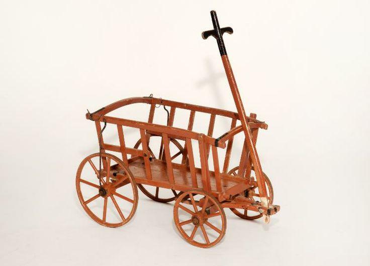 Antiker Bollerwagen