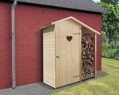 WEKA Tuinkast Hart met houtopslag, 162 x 105 cm kopen bij HORNBACH