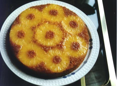 "Torta ""sottosopra""  all'ananas"