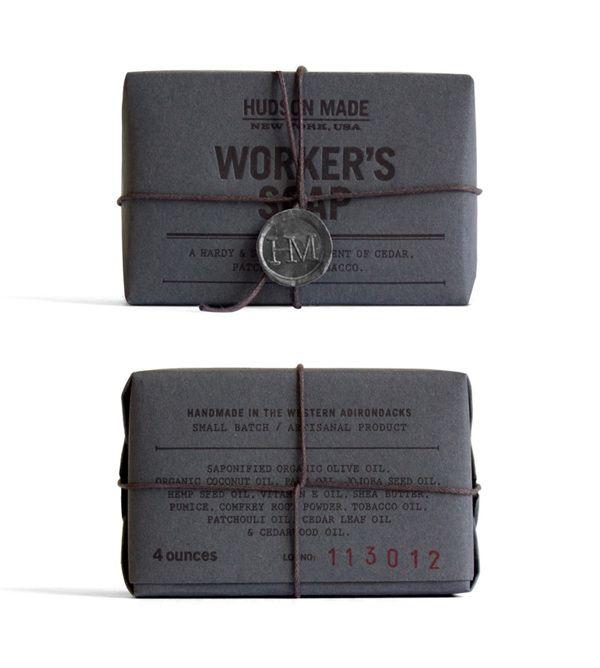 hudson made worker's soap. hovard design.