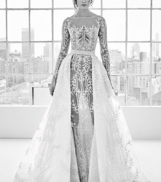 Robe de mariée 2018 - Robe avec jupon amovible, Zuhair Murad