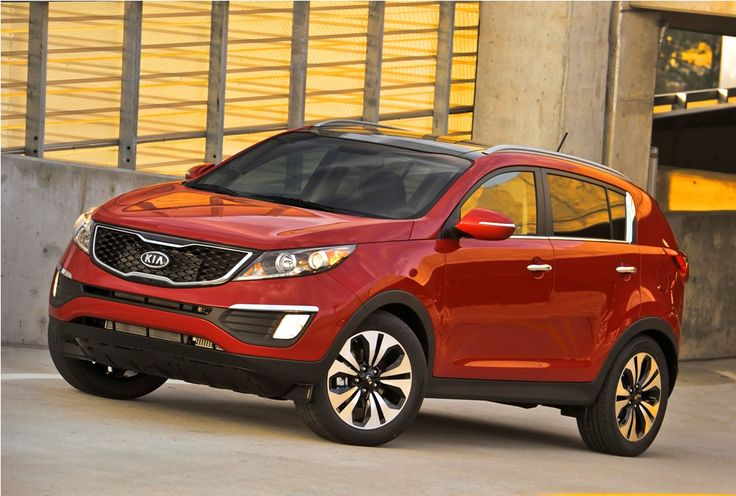 2011 Kia Sportage ORANGE (where the hell was this when I went car shopping??)