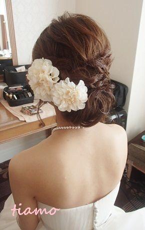 ♡かわいい花嫁さまのこだわりwedding style♡ の画像|大人可愛いブライダルヘアメイク『tiamo』の結婚カタログ