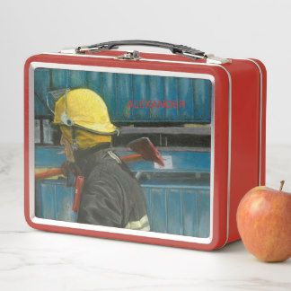 Box with buffet for worker accomplished Duty 2 Metal Lunch Box