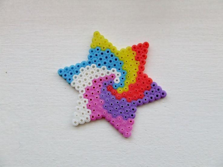 Kit Etoile pastel en perles à repasser : Kits, tutoriels Activités Enfants par la-boutique-de-clemence