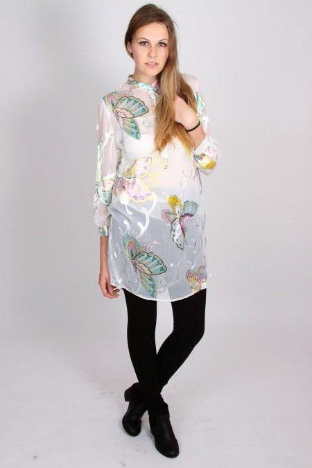 Madame Butterfly (sheer silk)
