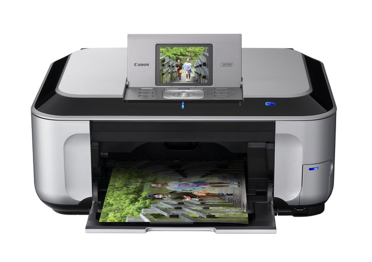 Canon PIXMA MP990 Wireless Inkjet Photo All-In-One Printer (3749B002). Six individual ink system featuring gray ink for professional-looking black & white photos. Superior optical scanning resolution of 4800 dpi with included Film Adapter Unit to scan film and slides. Maximum 9600 x 2400 color dpi for exceptional photo quality. Professional color adjustment feature with the included Easy-PhotoPrint Pro software. Use the new Auto Photo Fix II to automatically adjust and correct your photos.