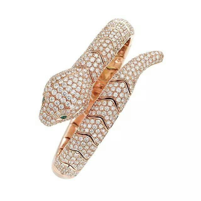 Serpente di diamanti