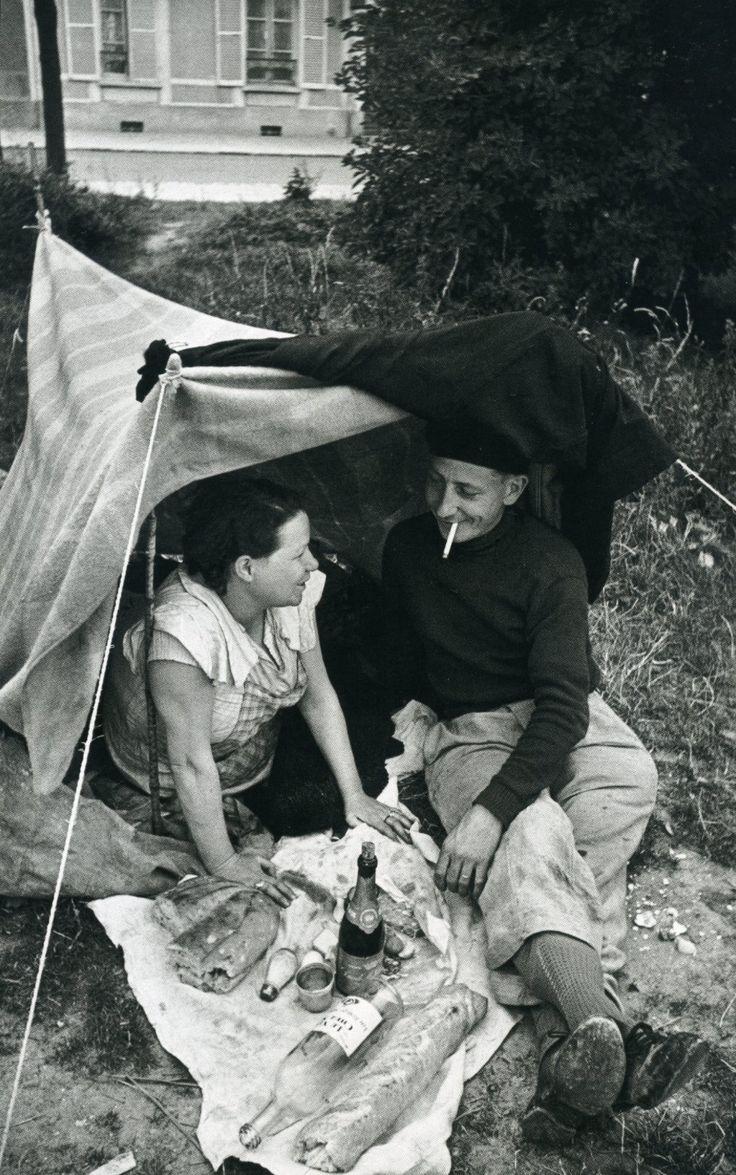 Henri Cartier-Bresson - Premiers congés payés 1936 -833