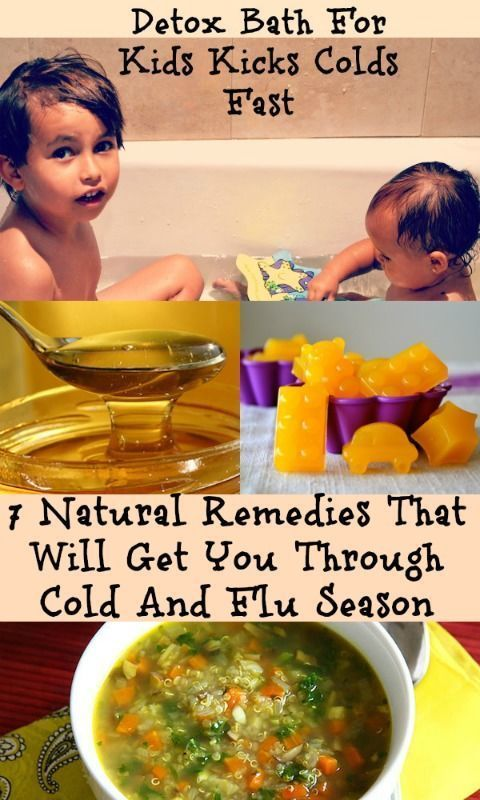 These 7 Natural Remedies That Will Get You Through Cold And Flu Season are my favorite ways to help my family prevent and fight a cold or flu. #naturalcures #kids #health #natural