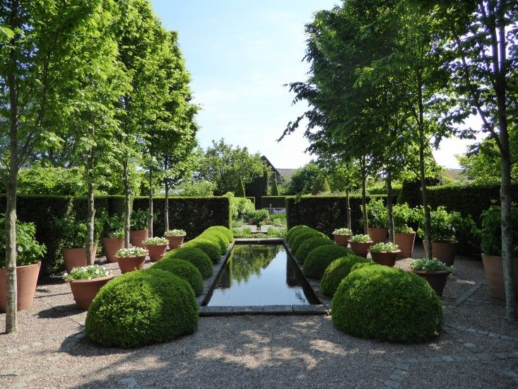 10 Garden Ideas To Steal From Wollerton Old Hall In Shropshire Potted Trees Beautiful Gardens Cottage Garden