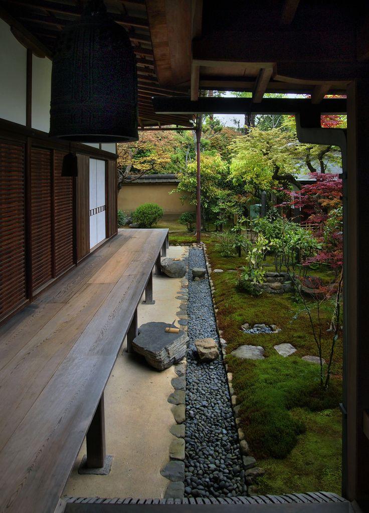 Blurred line between interior and exterior garden.