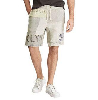 Polo Ralph Lauren® Men's Patchwork Fleece Shorts