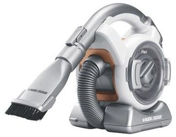 Black & Decker Cordless Mini Canister Vac contemporary-vacuum-cleaners