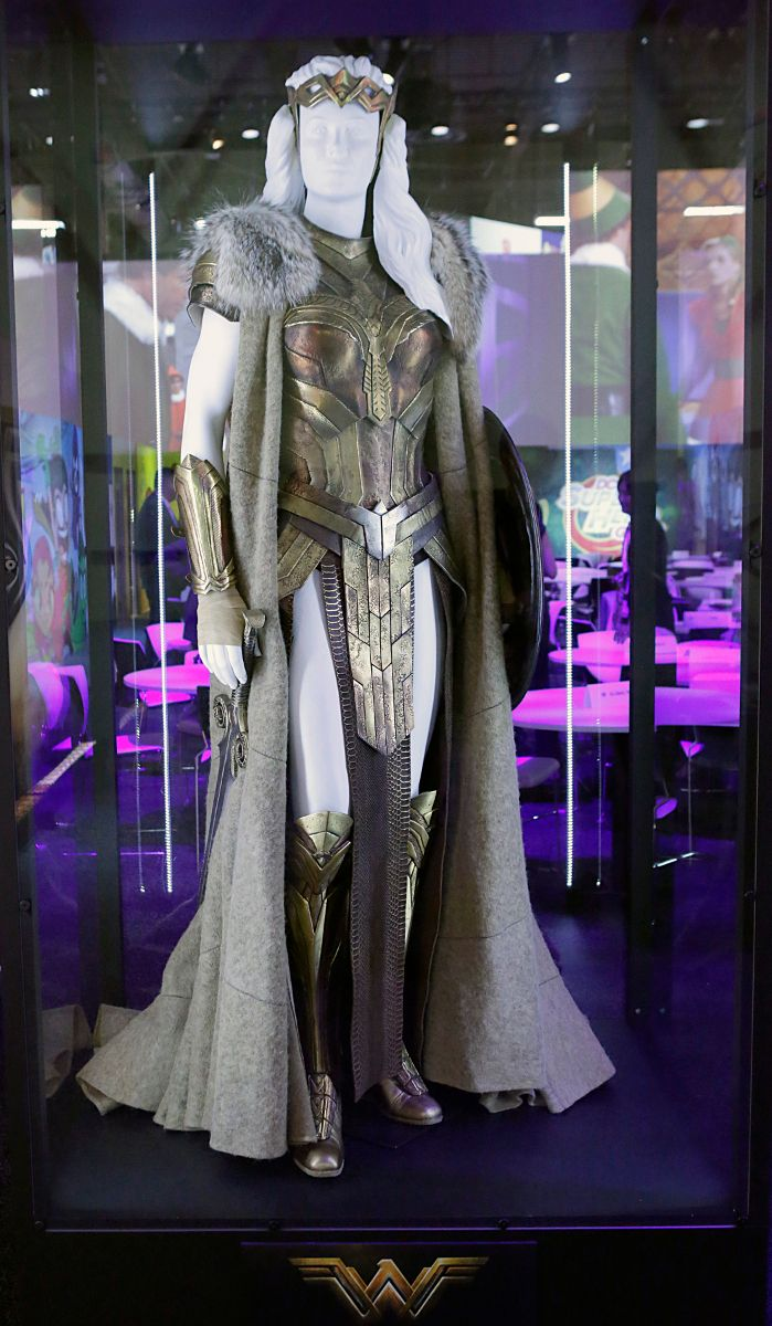 Wonder Woman movie costumes and props                              …