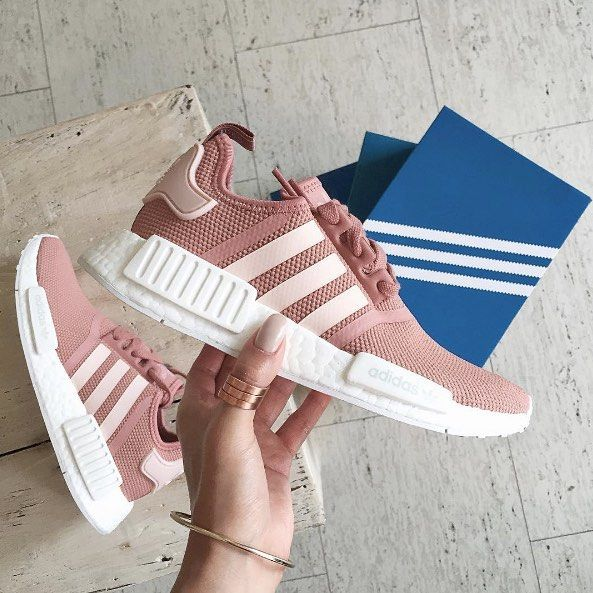 Sneakers femme - Adidas NMD R1 Raw Pink