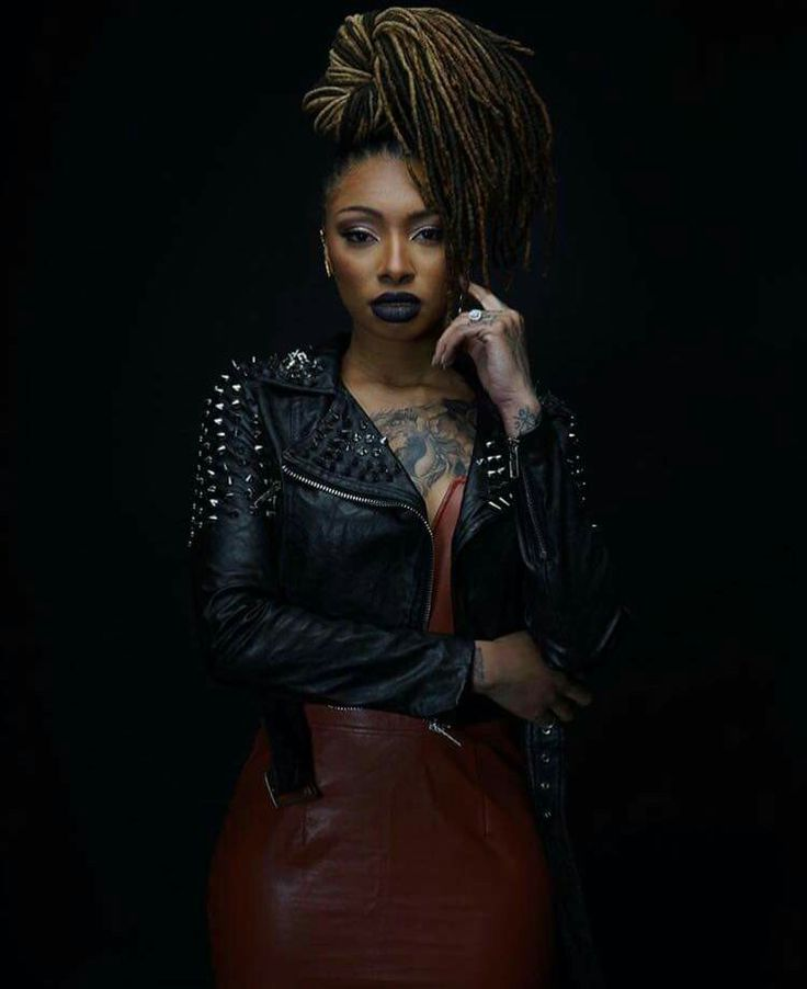 Pinterest: Aye_MissTina | Black beauties, Leather jacket