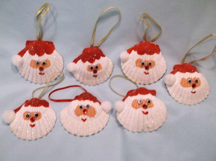 Seashell Christmas ideas